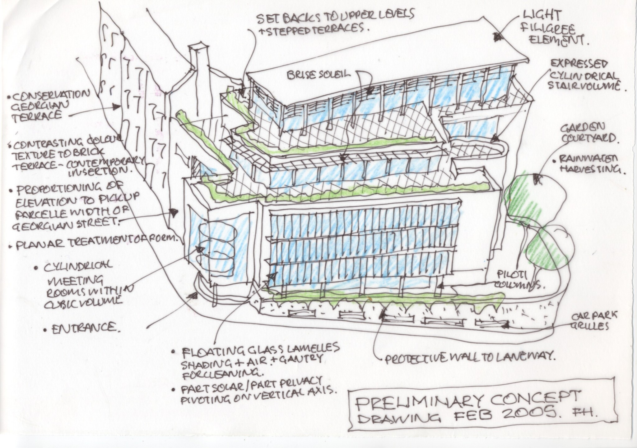 20 on Hatch Preliminary Concept Sketch