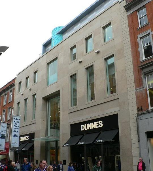 Facade Treatment to Henry Street