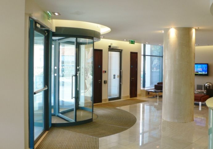 Entry Doors to Foyer