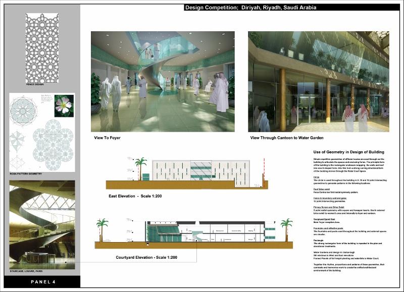 Directorate Offices Diriyah Saudi Arabia - Geometry and Interior views