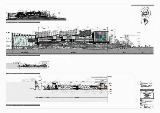 Design Elevation to Park