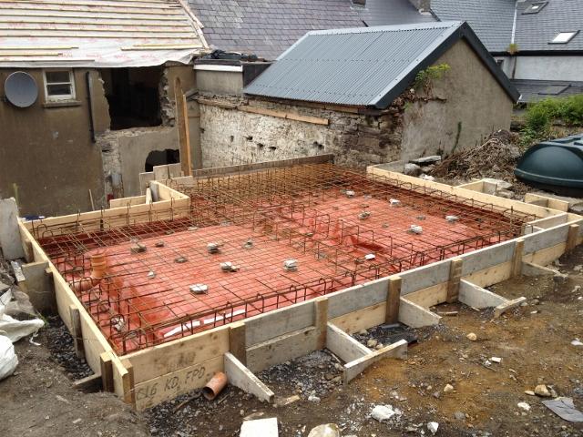 Foundation to Kitchen