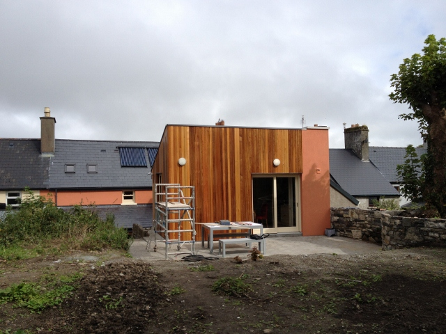 Kitchen extension to rear garden