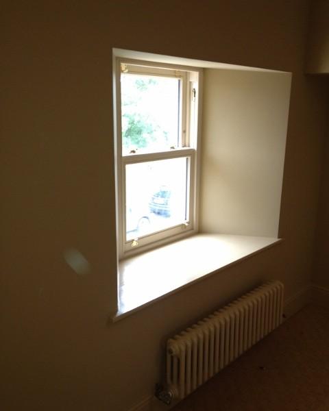 New Window and drylining