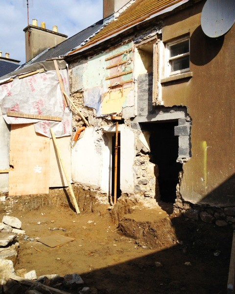 Rear of house before  (2)
