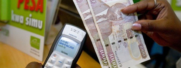 M-PESA-example of mobile technology  in Kenya (developed by others)